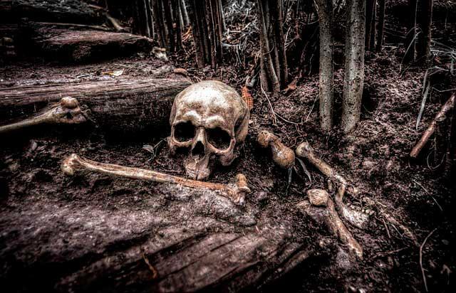 Soñar con huesos