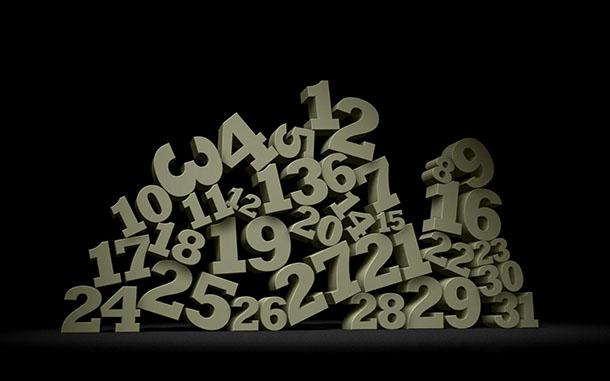 Soñar con números