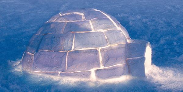 Soñar con un iglú