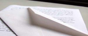Soñar con una carta