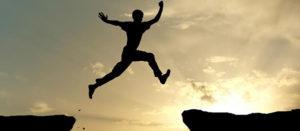 Soñar con saltar o que saltamos