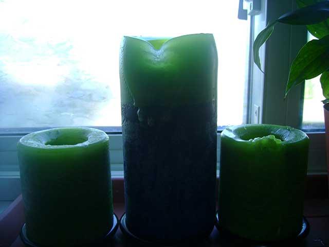Ritual con velas verdes para el trabajo