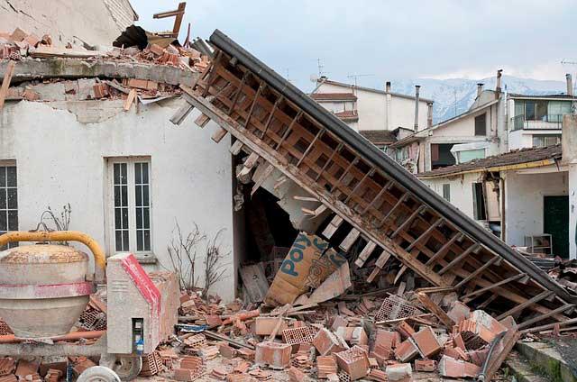 Soñar con un terremoto