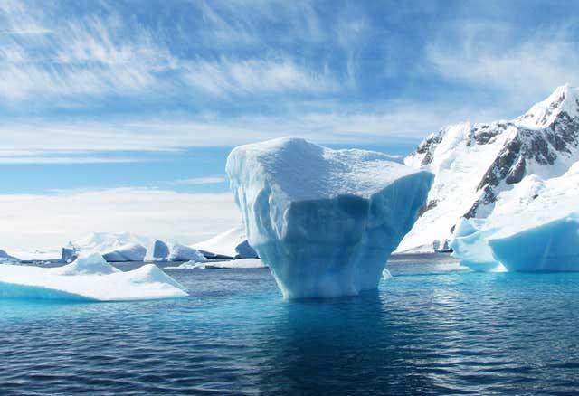 Soñar con un iceberg