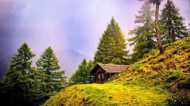 Soñar con una cabaña