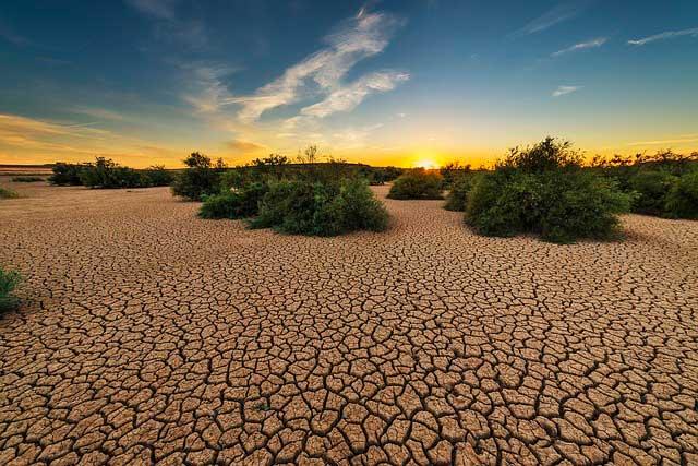 Soñar con sequía